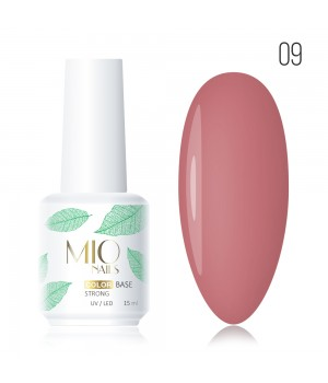 база MIO NAILS COLOR BASE STRONG №9  15 мл
