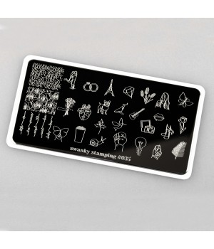 Swanky Stamping, Пластина 035
