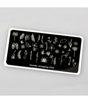 Swanky Stamping, Пластина 041